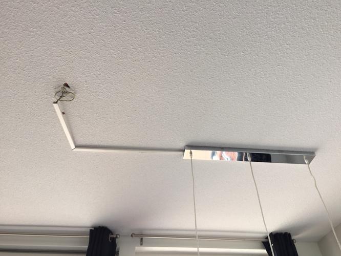 Lamp boven eettafel ophangen boren is nodig  Werkspot