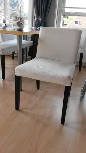 Nieuwe hoezen maken voor de ikea nils stoel zonder