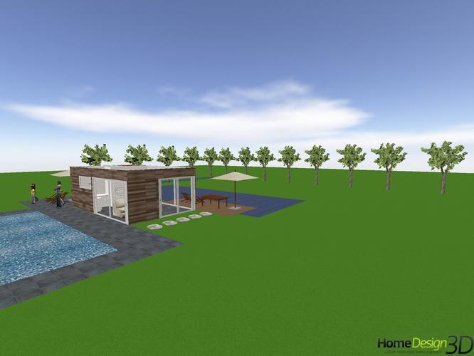 Bouw houten Poolhouse 30 m2  Werkspot