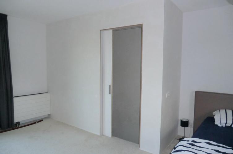 Wand met schuifdeur plaatsen 180 x 250 m  Werkspot