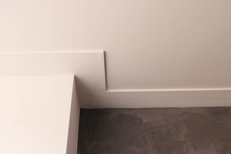 Platte plafondplint  Werkspot