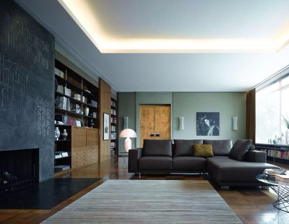Verlaagd plafond en stuc  LEDverlichting  Werkspot
