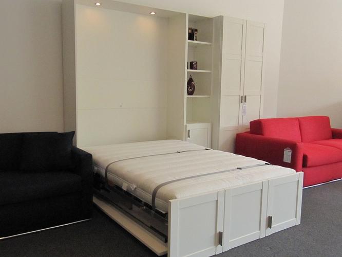 Bedkast inklapbaar bed voor matras van 140x200  Werkspot