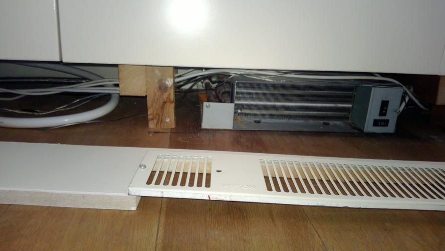 Kickspace vervangen en radiator verplaatsen  Werkspot