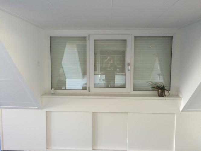 Vensterbank  knieschot maken binnenkant dakkapel  Werkspot