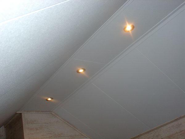 verlaagd plafond zolder maken met spotjes  Werkspot
