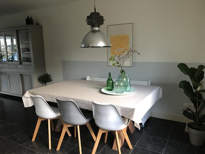 Wonderbaar Vaste Bank Eettafel | Kubus Twee Zits Bank Wit Kopen? | Cavel Design RD-67