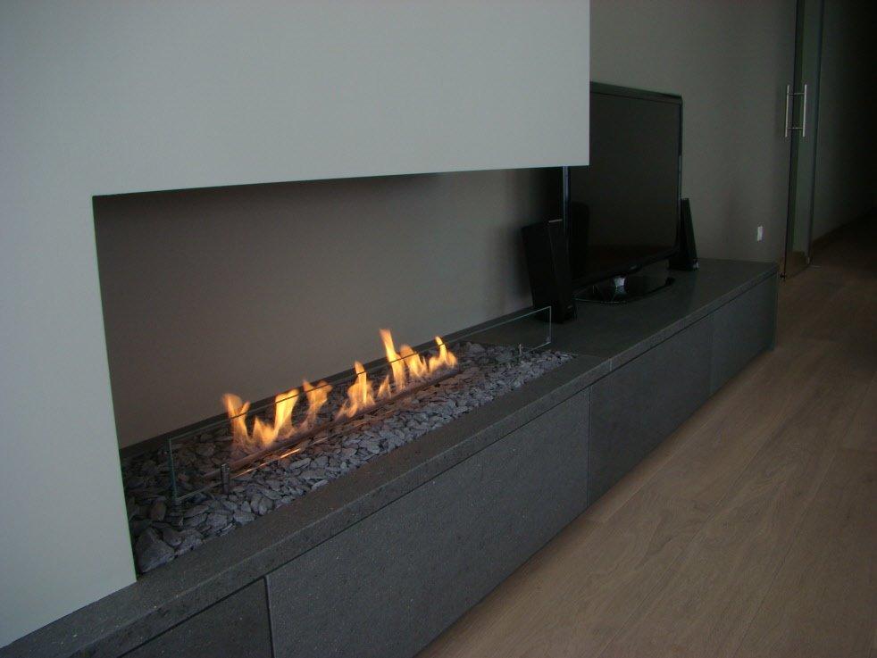 TV meubel met bio ethanol haard  Werkspot