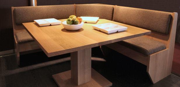 Keuken hoekbank hout  plm 15 x 3 mtr  Werkspot