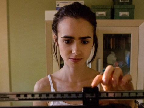 Lily Collins in To the Bone