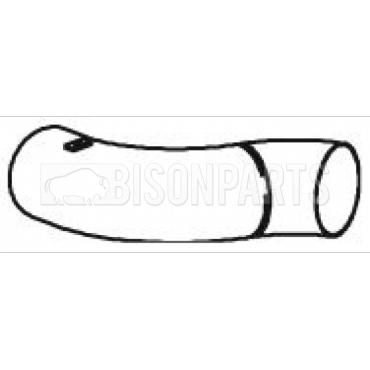DAF 75CF, 85CF (1998-2000) EXHAUST TAIL PIPE 21727