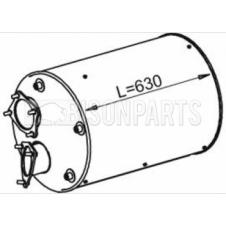 EXHAUST SILENCER BOX C/W CAT 68339, 1865785, 1538681