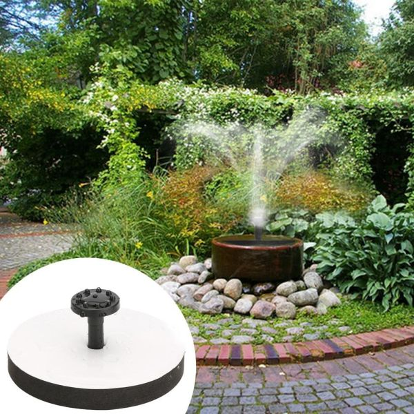 Solar Panel Power Fountain Pump Kit Garden Pond Water Pool Floating Outdoor Tool 695897820086