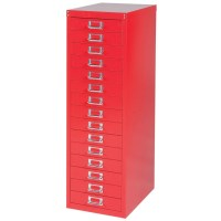 Bisley 10 / 15 Drawer Multidrawer A4 Filing Storage ...