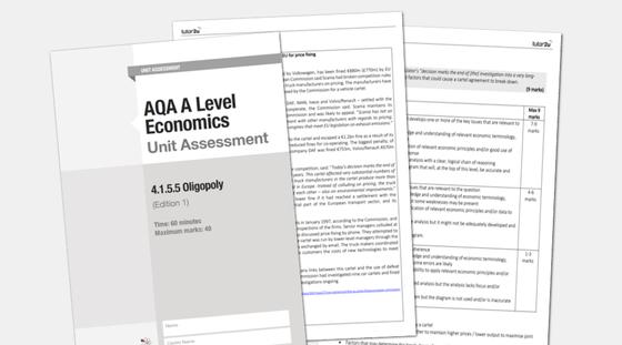 4.1.5.5 Oligopoly - AQA A Level Economics Unit… | Economics | tutor2u