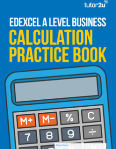 Edexcel  level business calculation practice book also inventory stock control charts tutor  rh