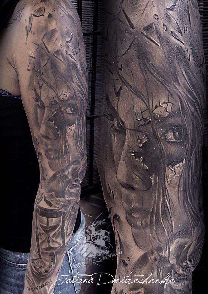Tatuajes De Catrinas Cultura Mexicana De Moda Tania Tattoo
