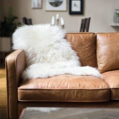 The Leather Sofa Company Uk Baker Track Arm Sheepskins And Sofas - Perfect Partners