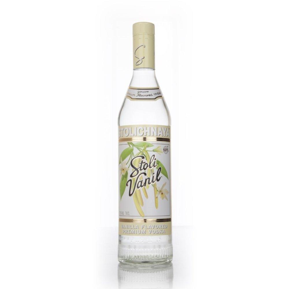 Stolichnaya 'Stoli Vanil' Vanilla Flavoured Premium Russian Vodka 70cl 37.5% ABV