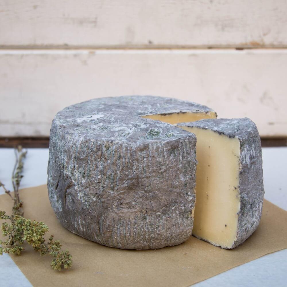 250g Stahtotyri 'Ash' Aged Yellow Greek Cheese Naxos by ...