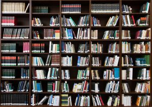 A library of books for marketing research