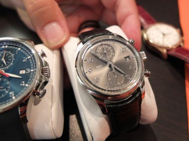 Portuguese Chronograph Classic i stål