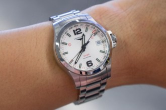 Longines Conquest V.H.P. GMT Flash Setting (41 mm).