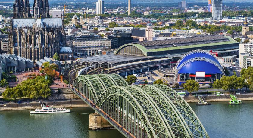 Cologne Marriott Hotel Book Cologne Marriott Hotel With