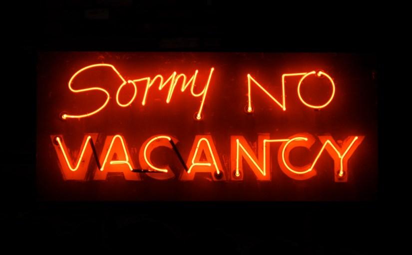 hotel vacancy neon