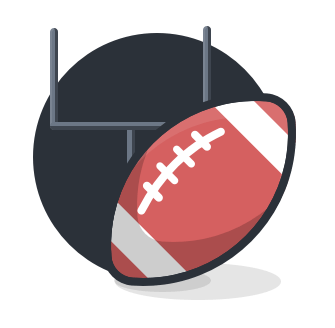 Ein American-Football.