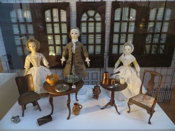 Curious Collage 18th Century Dolls House
