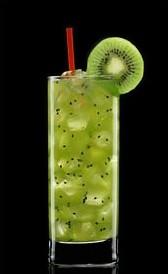Cóctel sin alcohol Kiwi Soda