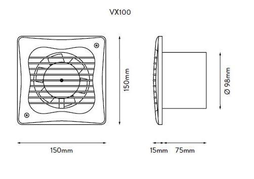 XPELAIR VX100T 4