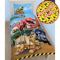 BOYS DISNEY & CHARACTER SINGLE PANEL DUVET 2 IN 1 SETS