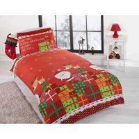 CHRISTMAS DUVET COVER BEDDING SETS  TWIN DOUBLE & JUNIOR ...