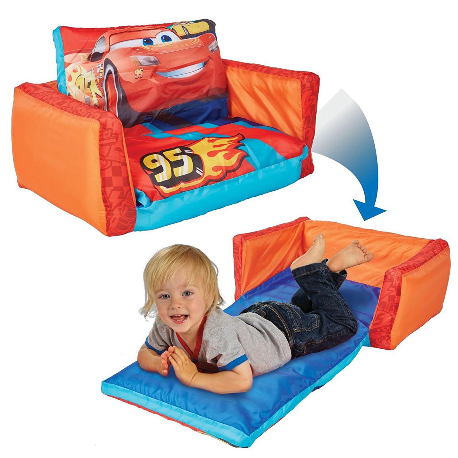 disney cars flip out sofa australia sets for sale range inflatable kids room new minions