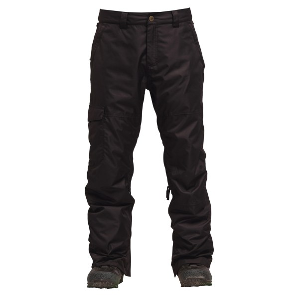 Bonfire Snowboard Pants - Tactical Cargo Pant Gold Insulated 15k-10k 2018