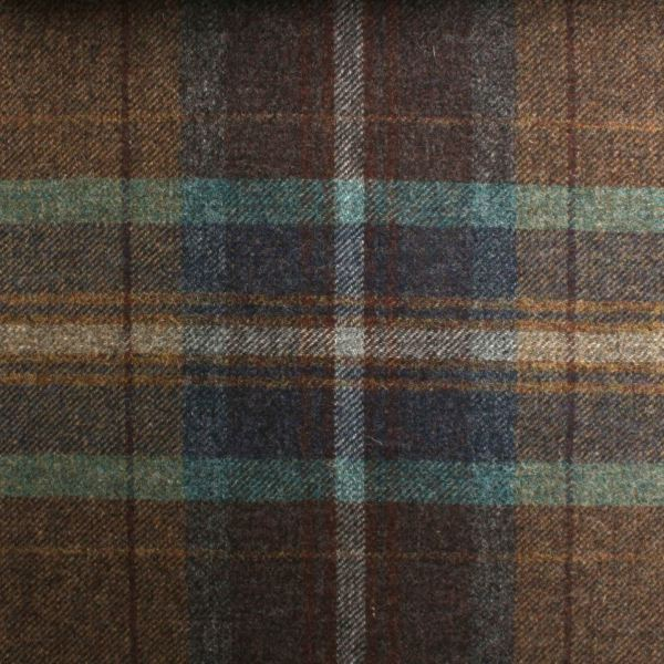 Pure Scotish Upholstery Wool Woven Tartan Check Plaid