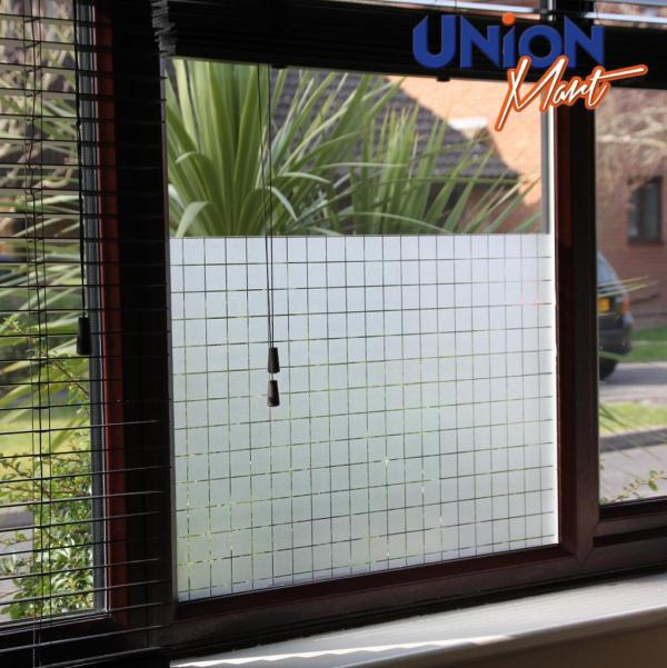 Window Film - Frosted Mirror Tint Privacy Reflective