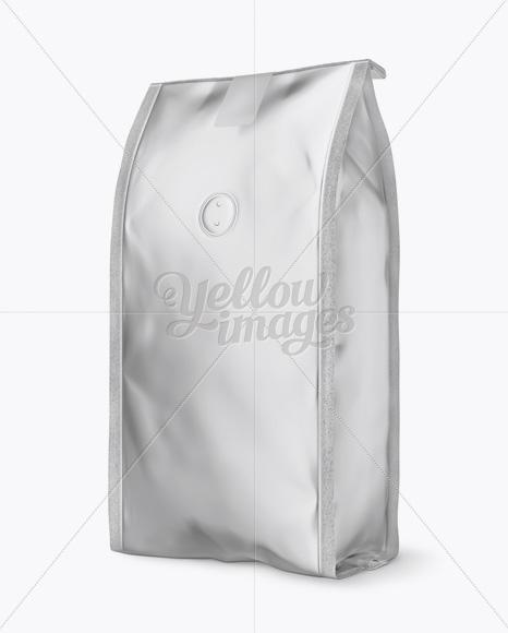 Download Matte Metallic Bag Psd Mockup Half Side View Yellowimages