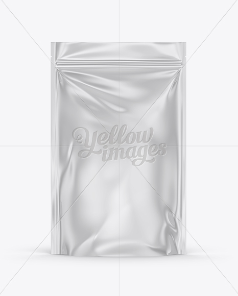 Standing Pouch Mockup : standing, pouch, mockup, Glossy, Stand, Pouch, Mockup, Mockups, Yellow, Images, Object