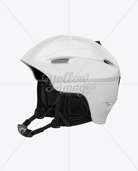 Download American Football Helmet Mockup Right View Yellow Images