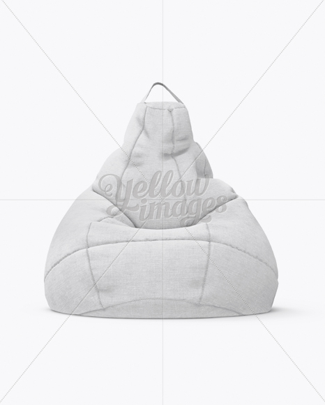 This premium option from placeit is ideal if you want to include two separate designs in a single mockup, such as two different bean types. Canvas Bean Bag Mockup In Object Mockups On Yellow Images Object Mockups