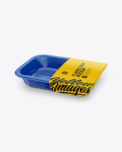 5996c2fce8011 Plastic Container Mockup - Half Side View (High Angle Shot) templates