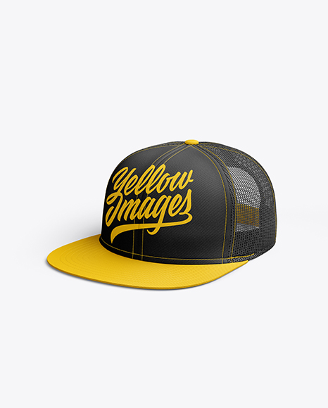 Download Realistic Cap Mockup Yellowimages