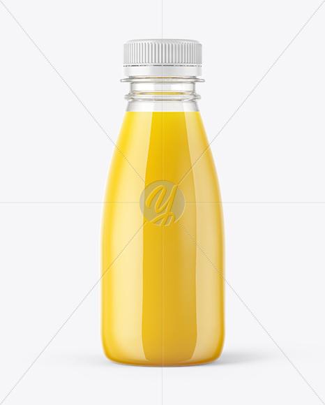 Download Square Orange Juice Bottle Psd Mockup Yellow Images