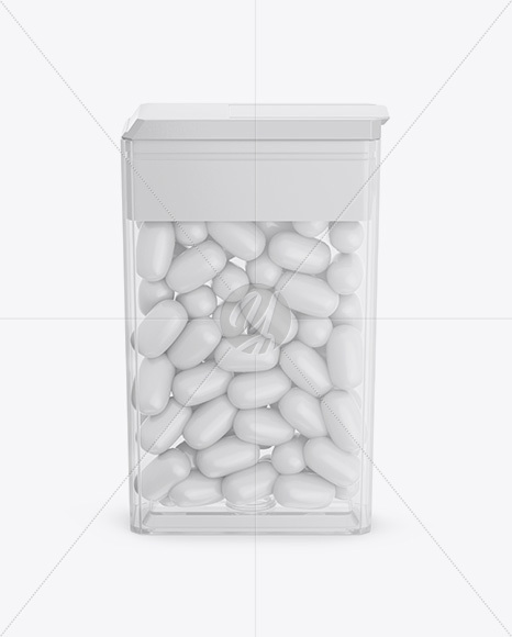 Find & download the most popular transparent packaging psd on freepik ✓ free for commercial use ✓ high quality images ✓ made for creative projects. Transparent Box With Candies Mockup Front View High Angle Shot In Box Mockups On Yellow Images Object Mockups