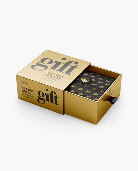 Download Free Gift Box Mockup Yellowimages