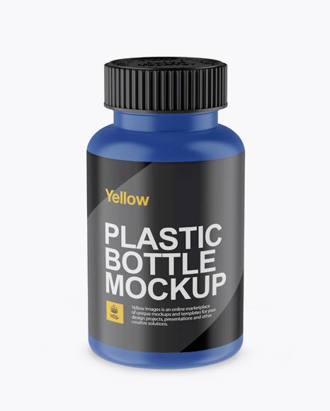 59e780e77c9b2 Matte Pill Bottle Mockup (High-Angle Shot) templates