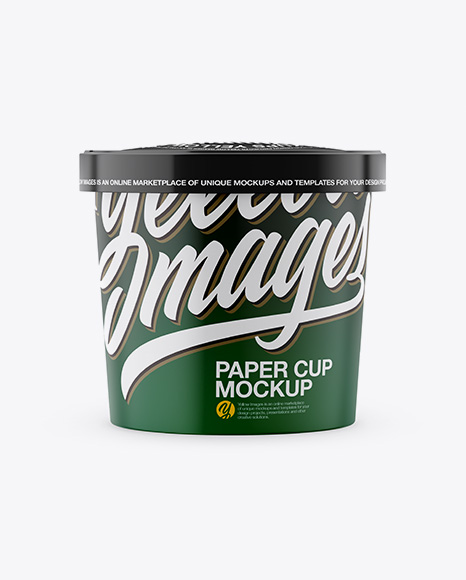 59f05b08916b9 Download Paper Cup Mockup - Front View Object Mockups templates